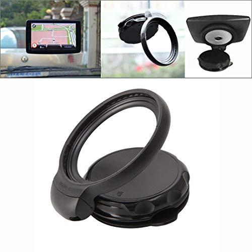 subtel® GPS Halterung für Tomtom Navigationsgeräte - Befestigung an der Frontscheibe/Windschutzscheibe - für Tomtom One, XL, XXL Serie GPS Geräte, KFZ Halterung mit Saugfuß, schwenkbar/neigbar