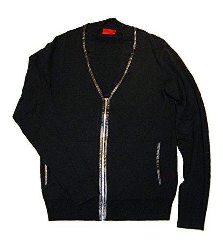 Hugo 001 Veste de sport en tricot Noir - Noir - S