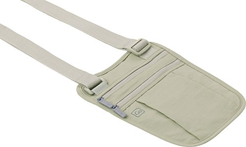 Go Travel Unisex Soft & Comfy Secret Shoulder Holster Money Wallet (Ref 616)