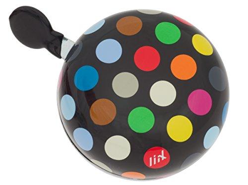 Liix Ding Dong Fahrradklingel Polka Dots Big Mix Black