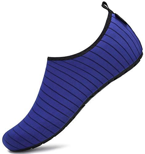 Zapatos de Agua Hombre Mujer Transpirable de Secado Rápido Zapatillas Snorkel Bucear Surf...