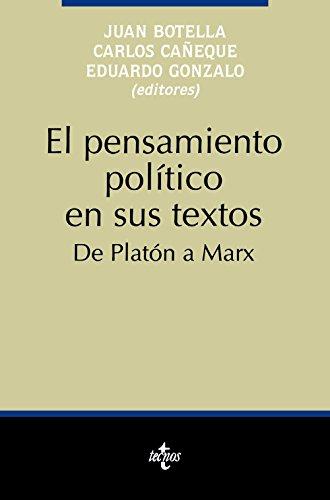 El pensamiento político en sus textos: De Platón a Marx (Ciencia Política - Semilla y Surco - Serie de Ciencia Política)