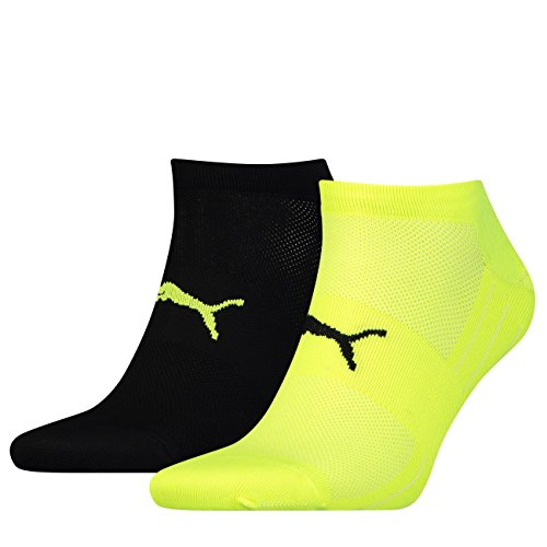 PUMA Unisex Sneaker Performance Train Light 8er Pack, Größe:39-42, Farbe:Black/Grey/Yellow (385)