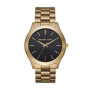 Michael Kors Men's Slim Runway Stainless Steel Quartz Watch