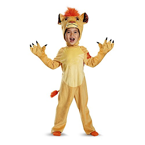 Disguise Kion Deluxe Toddler The Lion Guard Disney Costume, Medium/3T-4T