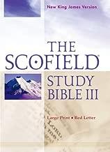 scofield study bible nkjv large print