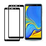 2 Piezas de Vidrio Templado,para Samsung A9 A7 A6 A8 2018 Película Protectora de Pantalla,para Samsung Galaxy J4 J6 Plus A5 A7 A3 2016 Película de Vidrio