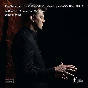 Piano Concerto in D major, Symphonies Nos. 80 & 81