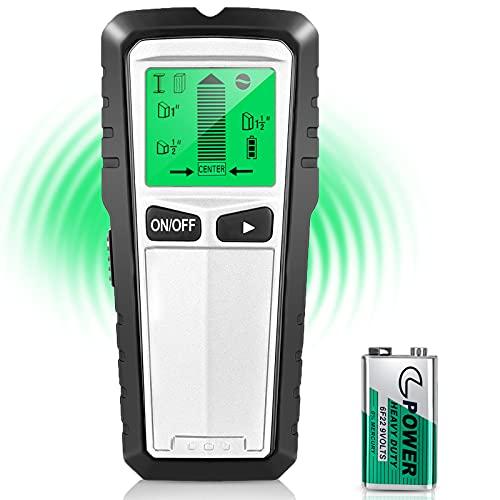 Stud Finder Wall Scanner 5 in 1 Electronic Stud Sensor Beam Finder for...