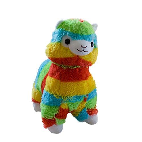 35cm Kawaii Alpaca pluche Rainbow Vicugna knuffels Doll gevulde Kids Christmas Gift