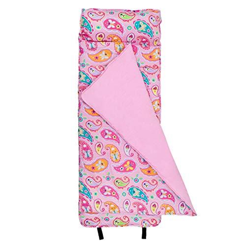 Wildkin Nap Mat Mit Kissen für Kleinkind Jungen und Mädchen, perfekte Größe für Kindertagesstätten und Vorschul, entworfen auf einem Standard-Cot zu passen