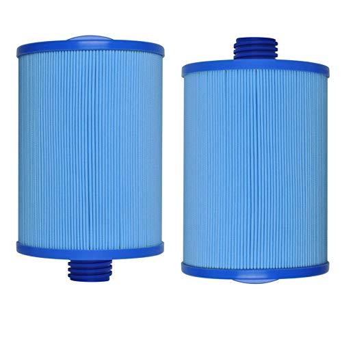 LZH FILTER Filtro de Piscina para Niños, Filtro Antibacteriano Azul, Filtro de Esponja para Piscina, Filtro de SPA (2 Piezas)