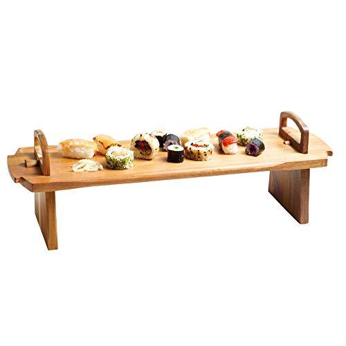 Kitchen Craft Master Class Artesa - Vassoio per antipasti in Legno d'acacia, 52 x 15 x 17 cm