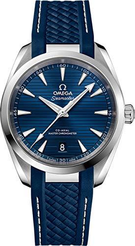 Omega Seamaster Aqua Terra automatico quadrante blu Mens Watch 220.12.38.20.03.001