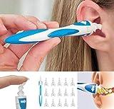 Limpiador de oídos inteligente, flexible para quitar la cera de los oídos, 16 puntas, de...