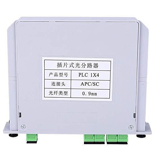 1X4 Fiber Splitter, Low Back Reflection Blade Optical Splitter,...