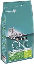 ONE Gatos de Interior Rico en Pavo y Cereales Integrales 1,5 Kg - 1500 gr
