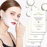 V Line Máscara de línea V Levantamiento Facial Mascarilla Reafirmante Elevación del Mentón dar forma a la Mandíbula Parche de Estiramiento Facial (5 piezas)