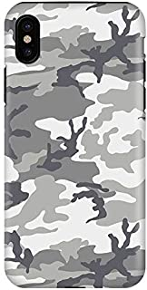 Stylizedd iPhone XS/iPhone X Tough Pro Matte Case Cover Matte Finish - Artic Camo