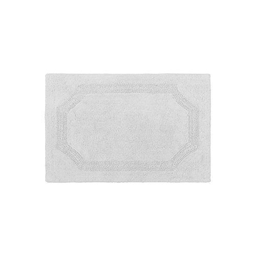 Laura Ashley LAYMB005963 Reversible Cotton Badematte, hellgrau, 17in. X 24in