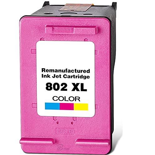 Compatible con HP 802 Cartucho de tinta de repuesto para HP Deskjet 1000 1010 1050 1011 1101 1102 1510 1511 2000 2050 3050 impresora Escuela de impresión suave