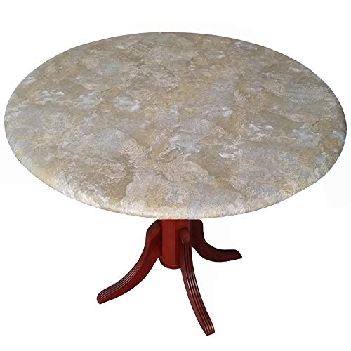 Slate Fitted Tablecloth Tablecover Table Cover fits 36 to 48 inch Tables