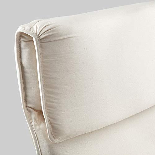 MSAMALL Sillón PELLO, Holmby natural, 67x85x96 cm duradero y fácil de cuidar. Sillones de tela. Sillones y chaise longues. Sofás y sillones. Muebles. Respetuoso con el medio ambiente.