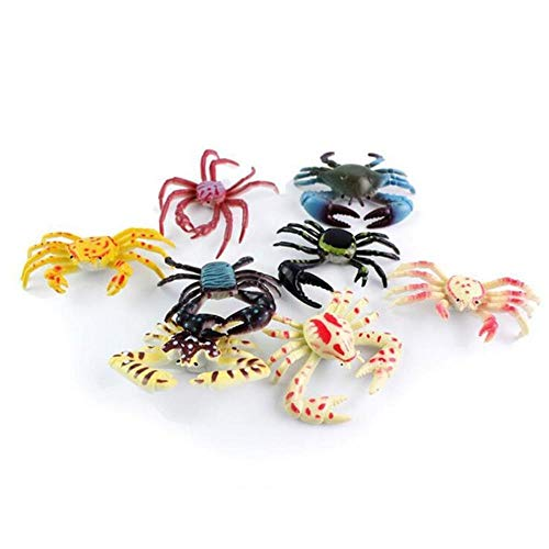 Yoin Kawaii mini simulatie schildpad krab beeldje miniaturen tuin fee mos terrarium Diy home decor bonsai ambacht PVC dieren model