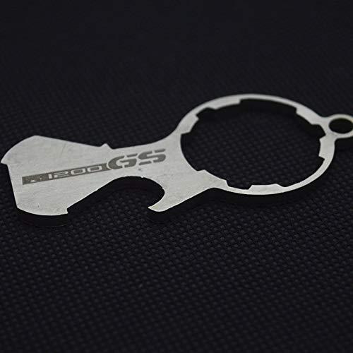 HANLING Motorolie-cup cap voor motorfiets, uit- en inbouw van roestvrij stalen sleutelgereedschap voor BMW R1200GS LC avontuur