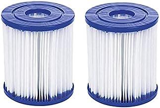 KHDFID Filtro para piscina Bestway tipo I para Bestway 58381 tipo I cartucho de filtro de repuesto para bombas de piscina Bestway, accesorios de filtro flowclear, filtro de cartucho (2 unidades)
