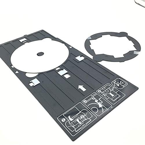Accesorios para impresora Original Nueva Bandeja de CD DVD VCD Bandeja de CD Soporte de impresión Bandeja de impresora Soporte de CD Compatible con Epson R200 R210 R220 R230 R300 R310 R320 R340 R350