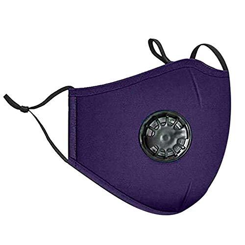 ReReamsky - Mascarillas cómodas, antipolvo, filtro de carb