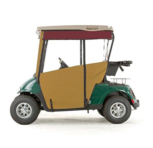 EZGO RXV Golf Cart PRO-TOURING Sunbrella Track Enclosure - Wheat-BRG