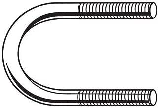 2 Pack of 3//8 Dia x 2-1//16 W x 7-7//8 L Boat Trailer Square Galvanized U-Bolts