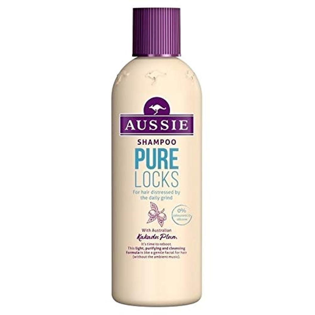 エレメンタルり[Aussie ] オージー純粋なロックシャンプー300ミリリットル - Aussie Pure Locks Shampoo 300ml [並行輸入品]