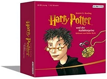 Harry Potter und der Halbblutprinz - 22 Audio Compact Discs (German audio edition of Harry Potter and the Half-Blood Prince)