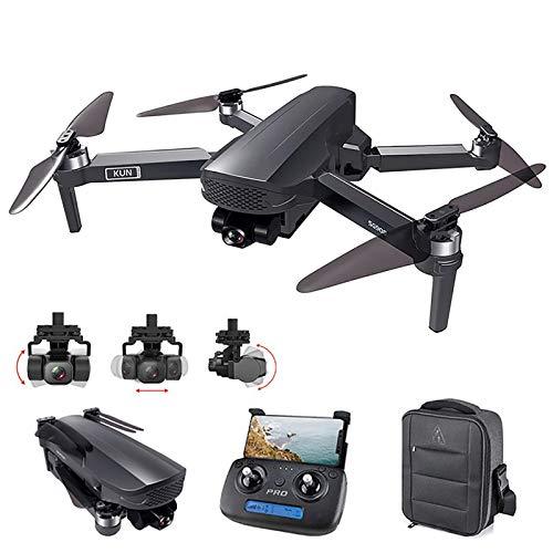 2021 NEU Drohne 3-Achsen Gimbal 4K Kamera 4/5G Wifi GPS Smart Follow,Erkennung von Gestenaufnahmen,Festkomma-Surround,,Bild- / Video-Sharing,Professionelle Drohne 50X Faltbarer Quadcopter
