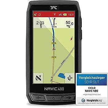 CICLO NAVIC 400 Navigation en vélo Unisex-Adult, Noir, 4 Pouces