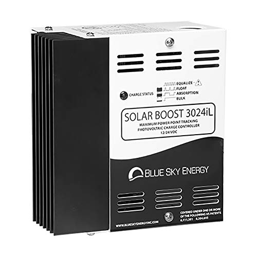 Blue Sky Energy Solar Boost SB3024iL MPPT Charge Controller 30A/40A, 12V/24V, Dual Battery or DC Load 20A