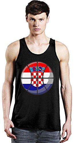 Croatia Basketball Tank Top XX-Large