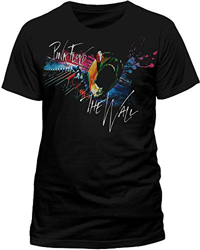 Live Nation - T-Shirt Homme Pink Floyd Marching - Noir (Black) - Small