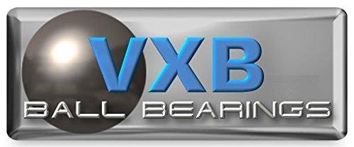 VXB Brand Premium Quality High Speed 4-Balls Ceramic Skateboard Bearings Kit of 8 Type: Deep Groove Ball Bearings 4 Si3N4 Ceramic (Silicon Nitride) Balls Cage: PTFE