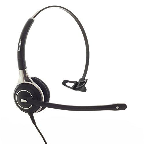 Comhead HM 750 ALC - Headset für Alcatel IP Touch 4028, 4029, 4038, 4039, 4068, 4069, 8028, 8029, 8038, 8039, 8068, 8082