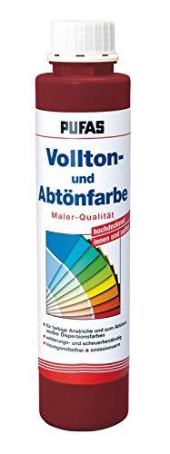 PUFAS Vollton- und Abtönfarben weinrot 0,75 Liter