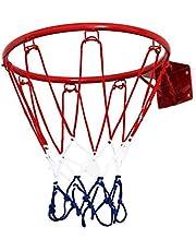 حلقة شبكة كرة السلة المعلقة على الحائط