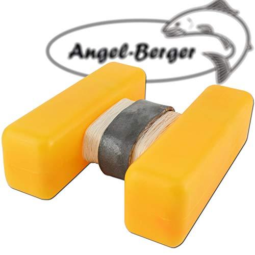 Angel-Berger H Boje Futterplatz Markierungen Marker Groß (Gelb, Standard)