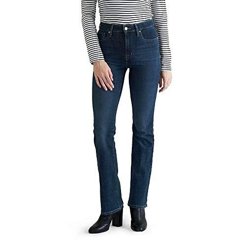 Levi's Women's 725 High Rise Bootcut Jeans, Lapis Dark Horse, 34 (US 18) L