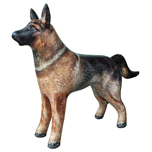 Jet Creations an-Shepherd German Shepherd Dog K9 Police Dog Inflatable Air Stuffed Animal Size 41 inch