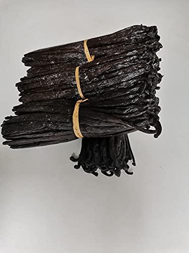Gousses de Vanille Bourbon de Madagascar - 10 Gousses de Vanille Gourmet 15/17 cm