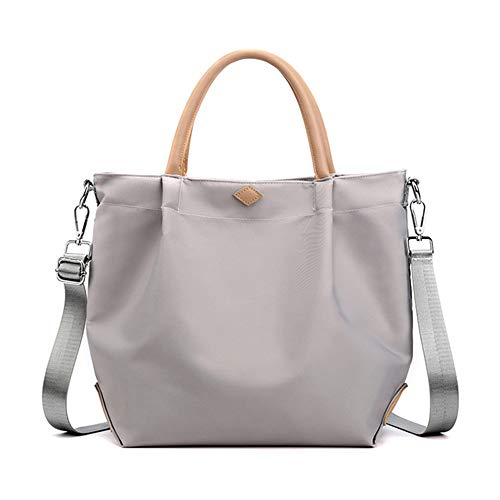 Bolso bandolera grande casual Hobo Bolsas bolso de teléfono móvil cartera de compras Bolsas de hombro para las mujeres, gris (gris), Large